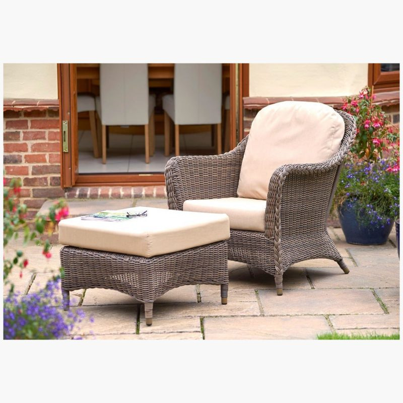 Marlow Lounge Armchair with Marlow Modular Footstool