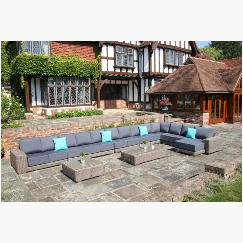 10 Piece Kensington Modular Sofa Set Q