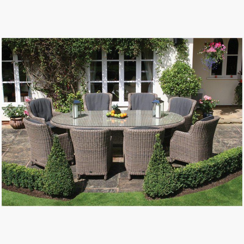 270cm Kensington Oval Dining Table