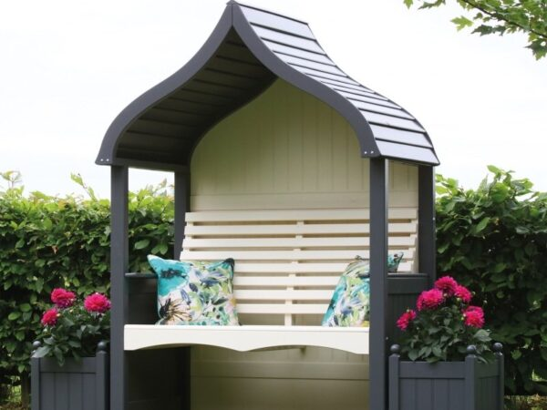 Buy AFK Orchid Arbour Charcoal & Cream
