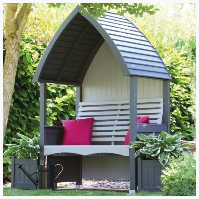 AFK Arbour Charcoal & Stone