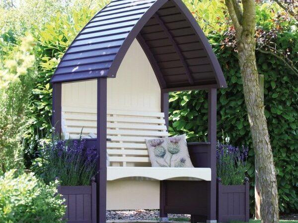 AFK Cottage Arbour Lavender & Cream