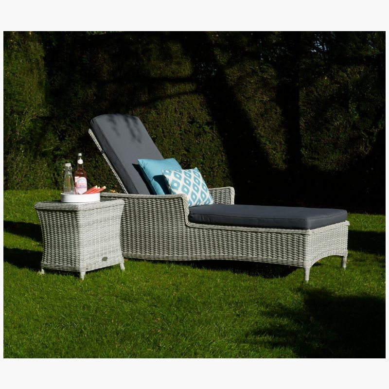 monterey lounger with high coffee table
