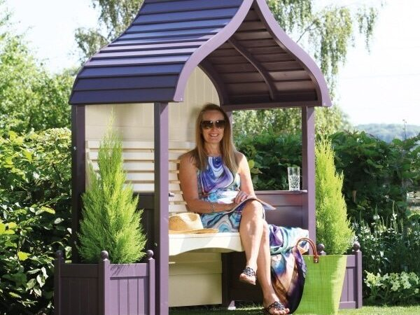 AFK Orchid Arbour Lavender and Cream