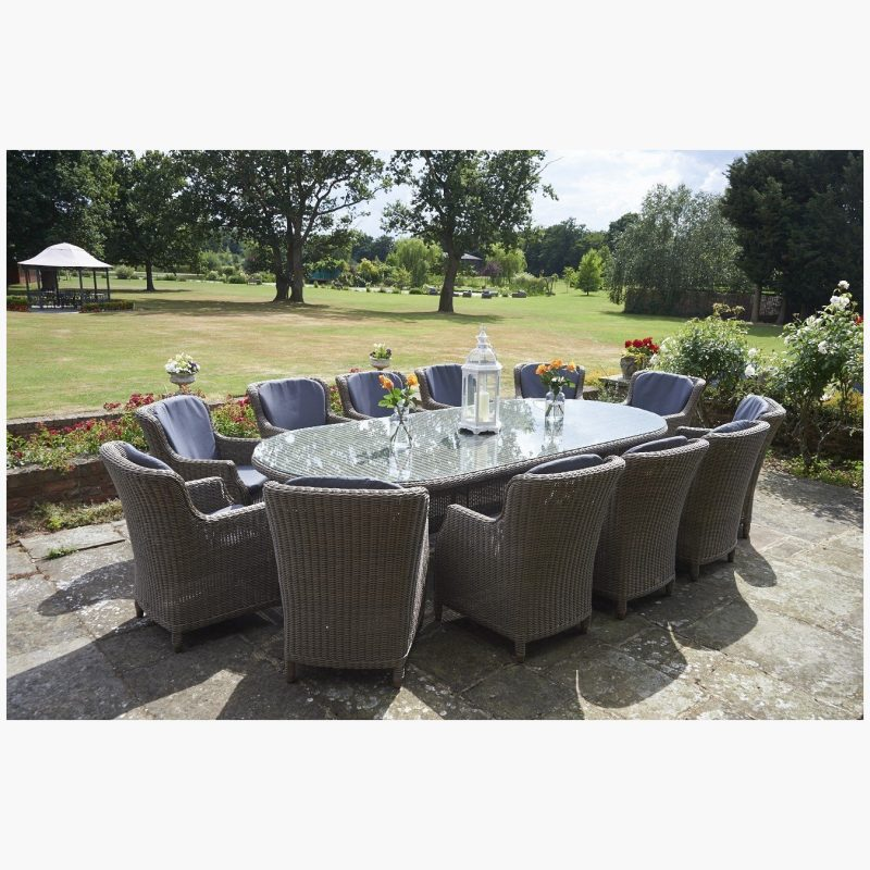 Kensington Oval Dining Table