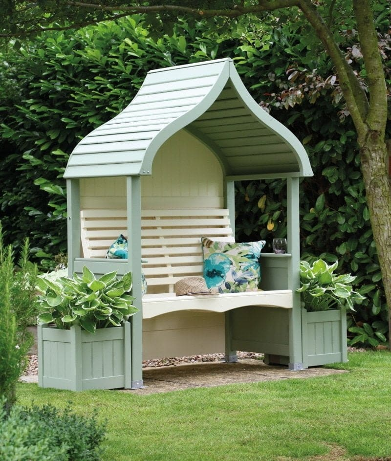AFK Orchid Arbour Sage and Cream