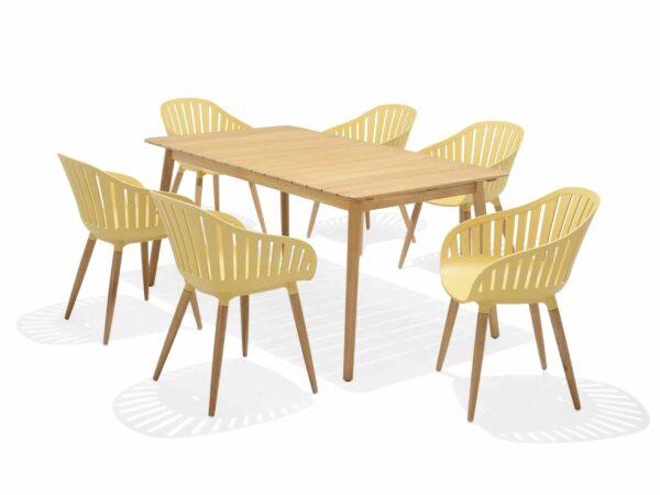 Lifestyle Garden Nassau 6 Seat – Yellow
