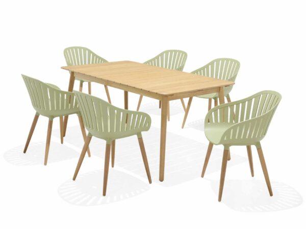 Lifestyle Garden Nassau 6 Seat – Green