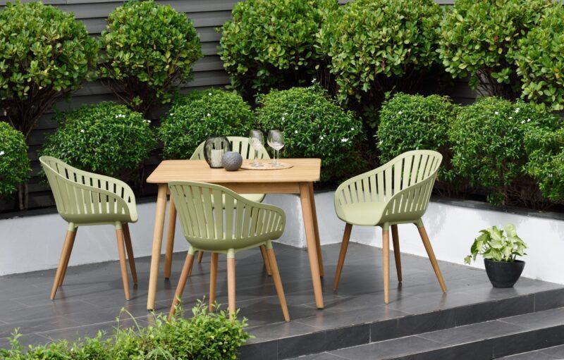 Lifestyle Garden Nassau 4 Seat Green