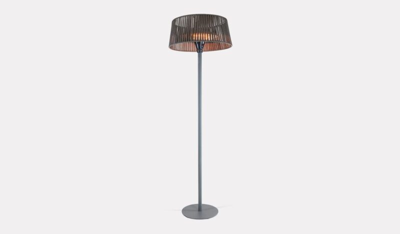 Plush Floor Standing Garden Heater & Lamp