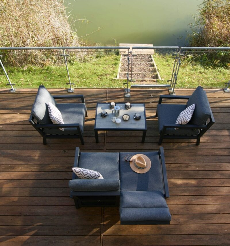 La Rochelle Reclining 2 Seat Sofa Set