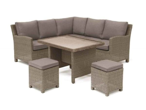 Kettler Palma Mini (Glass Top) – Rattan