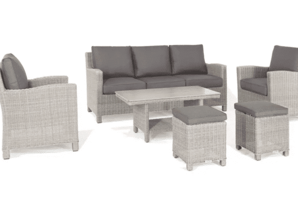 Kettler Palma Sofa Set in Whitewash