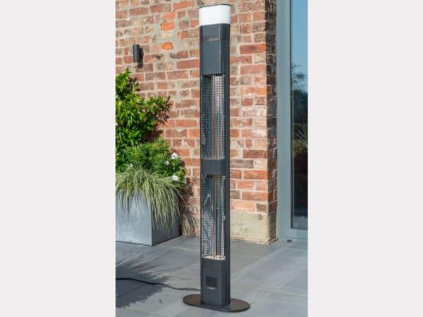 biza Floor Standing Garden Heater with LED and Wireless Speaker - large