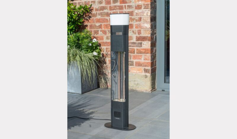 Ibiza Floor Standing Garden Heater with LED and Wireless Speaker