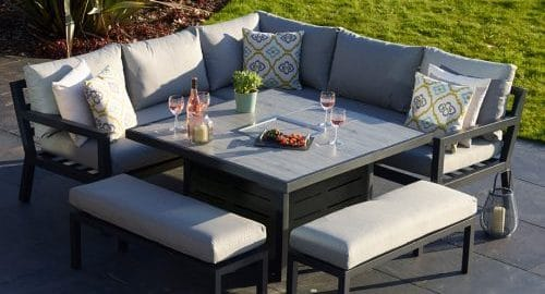 garden furniture casual dining set